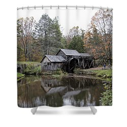 Beautiful Historical Mabry Mill Shower Curtain