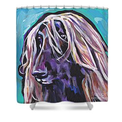 Beautiful Hound Shower Curtain by Lea S