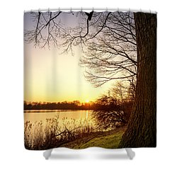 Beautiful Lake Shower Curtain