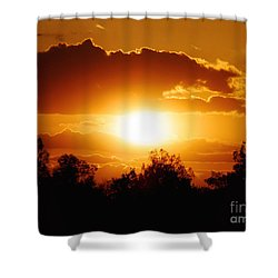 Shower Curtain featuring the photograph Beautiful Moment In Bakersfield by Meghan at FireBonnet Art