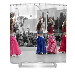 Beautiful Moons At The Festival Shower Curtain