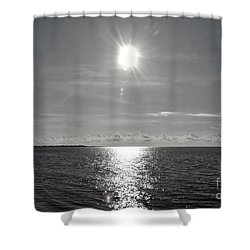 Beautiful Morning Shower Curtain by Amar Sheow