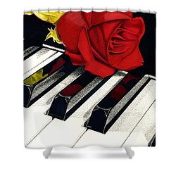 Beautiful Music Shower Curtain