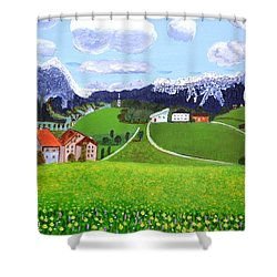 Beautiful Norway Shower Curtain by Magdalena Frohnsdorff