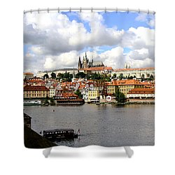 Shower Curtain featuring the photograph Beautiful Prague by Ira Shander