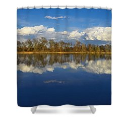 Beautiful Reflection Shower Curtain by Ivan Slosar
