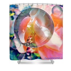 Beautiful Rose Marble - Autumn Light Shower Curtain
