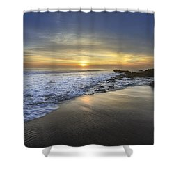 Beautiful Sunrise Shower Curtain by Debra and Dave Vanderlaan