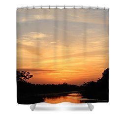 Beautiful View Shower Curtain by Cynthia Guinn
