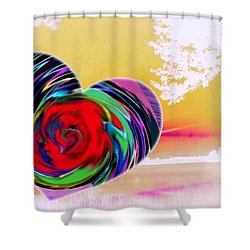 Beautiful Views Exist Shower Curtain by Catherine Lott
