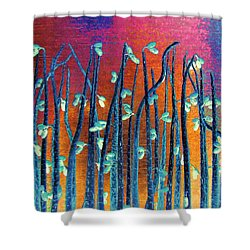 Beautiful Weeds On Venus Shower Curtain