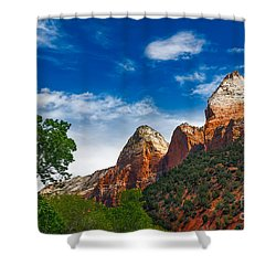 Beautiful Zion Shower Curtain by Robert Bales