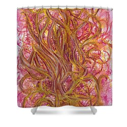 Beauty And Imperfection Shower Curtain by Kelly K H B