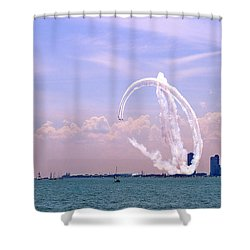 Beauty In The Air Shower Curtain
