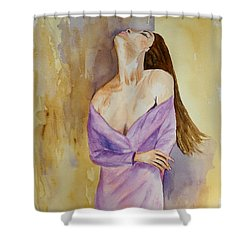 Beauty In Thought Shower Curtain