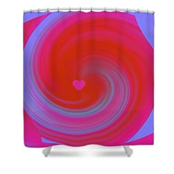 Beauty Marks Shower Curtain by Catherine Lott