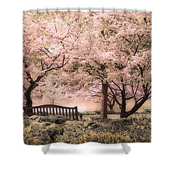 Beauty Of A Spring Garden Shower Curtain