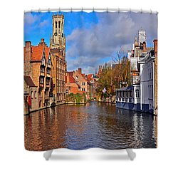 Beauty Of Belgium Shower Curtain