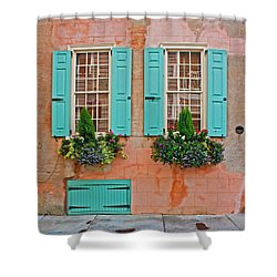 Shower Curtain featuring the photograph Beauty Of Charleston by Jean Haynes