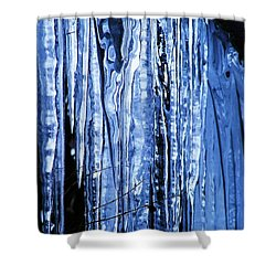 Shower Curtain featuring the photograph Beauty Of Ice by James McAdams
