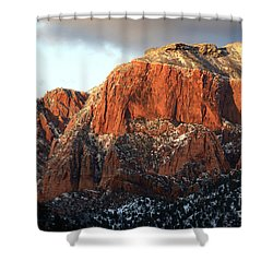 Beauty Of Kolob Canyon  Shower Curtain by Bob Christopher
