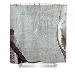Shower Curtain featuring the photograph Beauty Of Rust by Steven Macanka