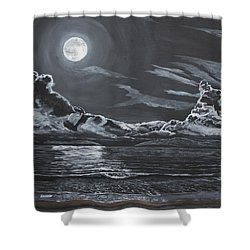 Beauty Of The Night Shower Curtain