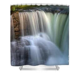 Beauty Of Water Shower Curtain by Bob Christopher