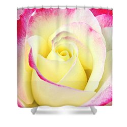 Beauty Unfurled Shower Curtain by Anna Porter