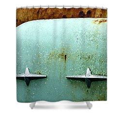 Beauty With Age Shower Curtain by Jean Noren