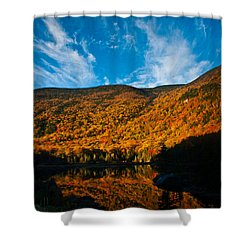 Beaver Pond White Mountain National Forest Shower Curtain