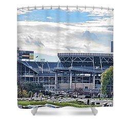 Beaver Stadium Game Day Shower Curtain