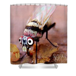 Shower Curtain featuring the photograph Beaver Tooth Fly by Chris Fraser