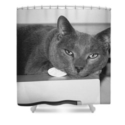 Bedroom Eyes Shower Curtain