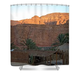 Beduin Camp In The Sinai Desert Egypt Shower Curtain by Colette V Hera  Guggenheim