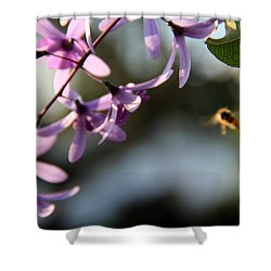 Bee Back Shower Curtain