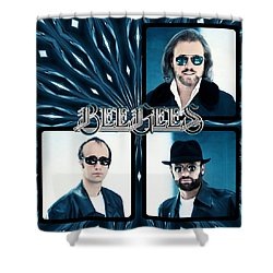 Bee Gees I Shower Curtain