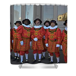 Beefeaters Shower Curtain