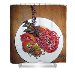 Beefsteak Shower Curtain
