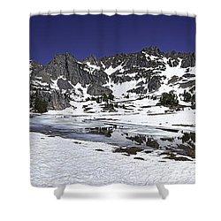 Beehive Basin Shower Curtain by Mark Harrington