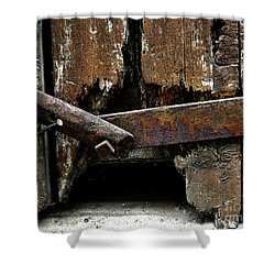 Shower Curtain featuring the photograph Been There by Newel Hunter