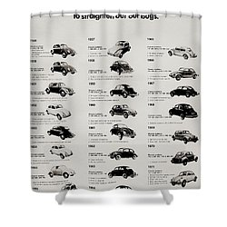 Shower Curtain featuring the photograph Beetle Evolution by Benjamin Yeager