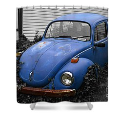 Shower Curtain featuring the photograph Beetle Garden by Angela DeFrias