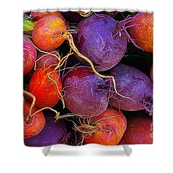 Beets Me  Shower Curtain by John S