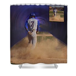 Before And After Sample Art 24 Shower Curtain by Thomas Woolworth