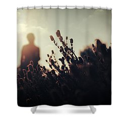 Before Love II Shower Curtain by Taylan Apukovska
