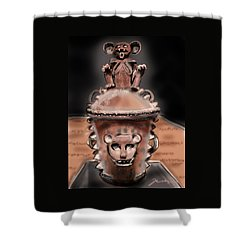 Before Mickey Shower Curtain by Jean Pacheco Ravinski