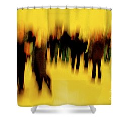 Shower Curtain featuring the photograph Before Mona Lisa by Danica Radman