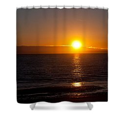 Before Night Falls  Shower Curtain by Sabine Edrissi