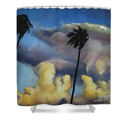 Before Sunset Shower Curtain by Jindra Noewi